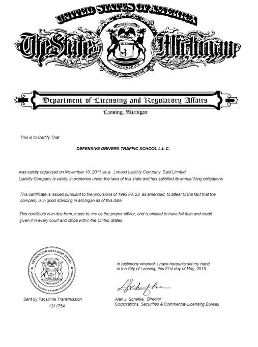 MI license and regulatory